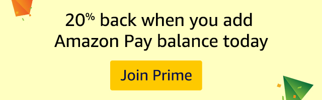 20% back when you add Amazon Pay balance today