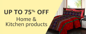 Up to 75% off Home and Kitchen Products