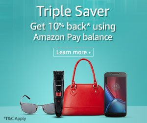amazon 10% cashback offer