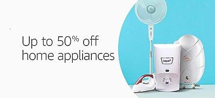 Upto 50 off: Home appliances