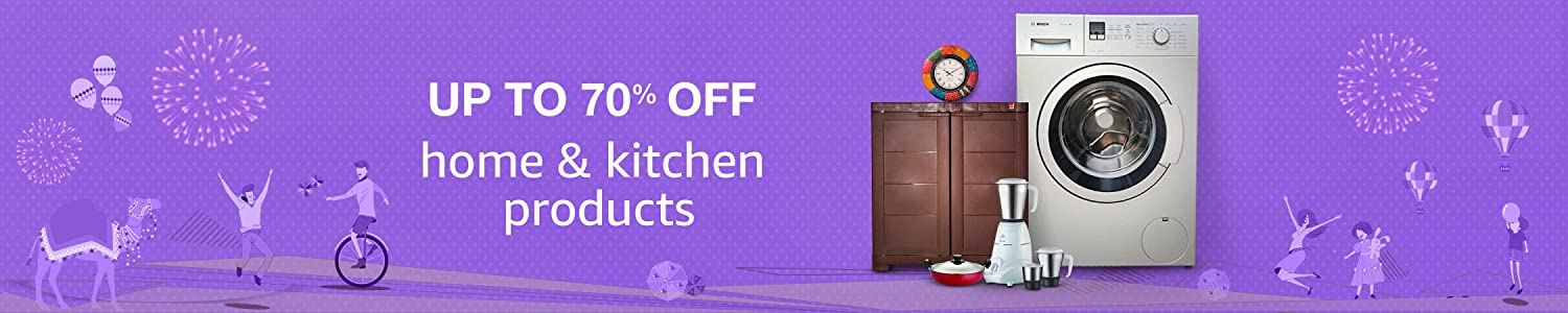 UP to 70 % Off Home and Kitchen Products