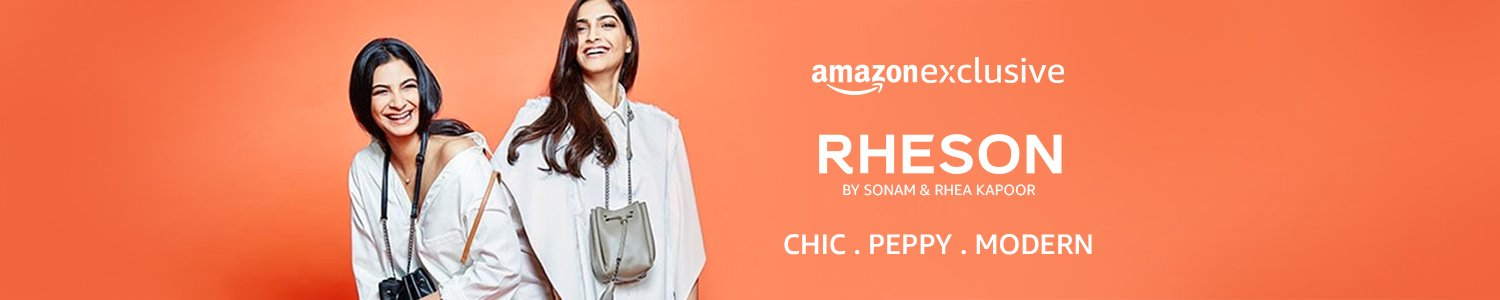 Just Launched: Rheson- By Sonam and Rhea Kapoor