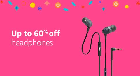 Up to 60% off headphones