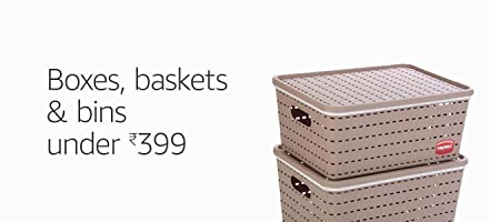 Boxes, baskets & bins under Rs.399