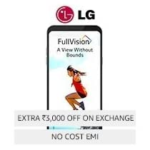 LG Q6 (Black, 18:9 FullVision Display) with additional 3000 off on exchange