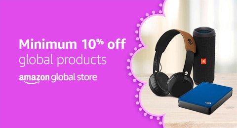 Minimum 10% off Amazon Global Store