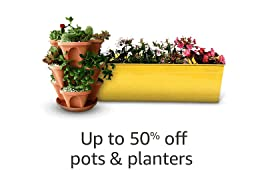 Up to 50% off Pots & Planters