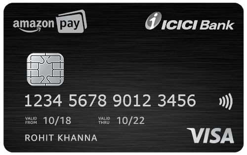 Unlimited 5% Cashback with Amazon Pay Icici Credit Cards + Lifetime Free