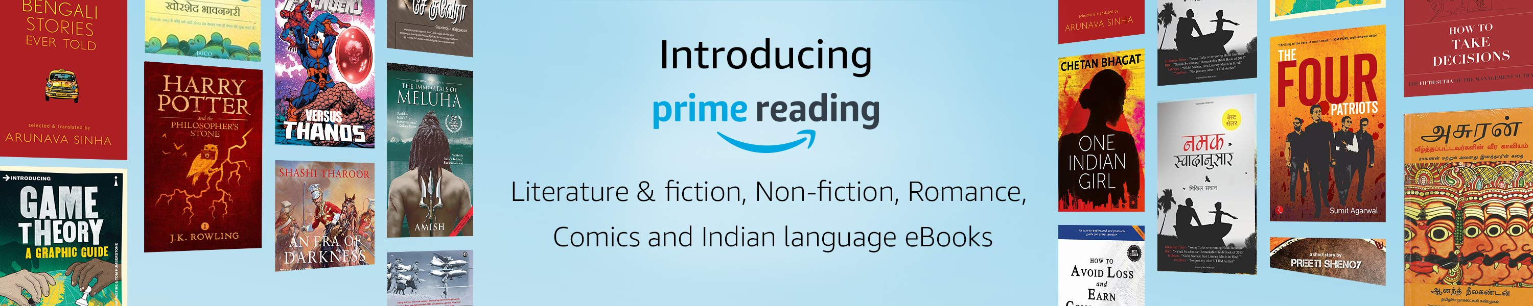 Amazon launches Prime Reading in India : Free Ebooks for