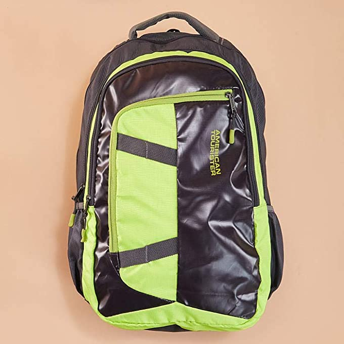 Neon Accent Backpacks and Duffles