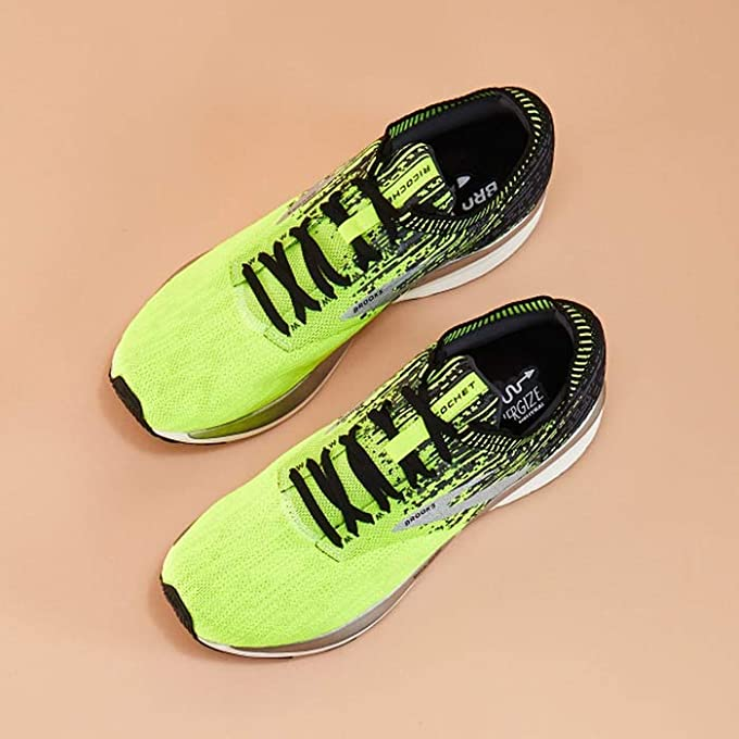 Neon Accent Sports Shoes