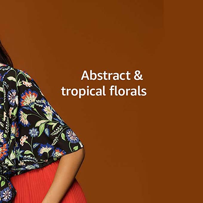 Abstract & tropical florals
