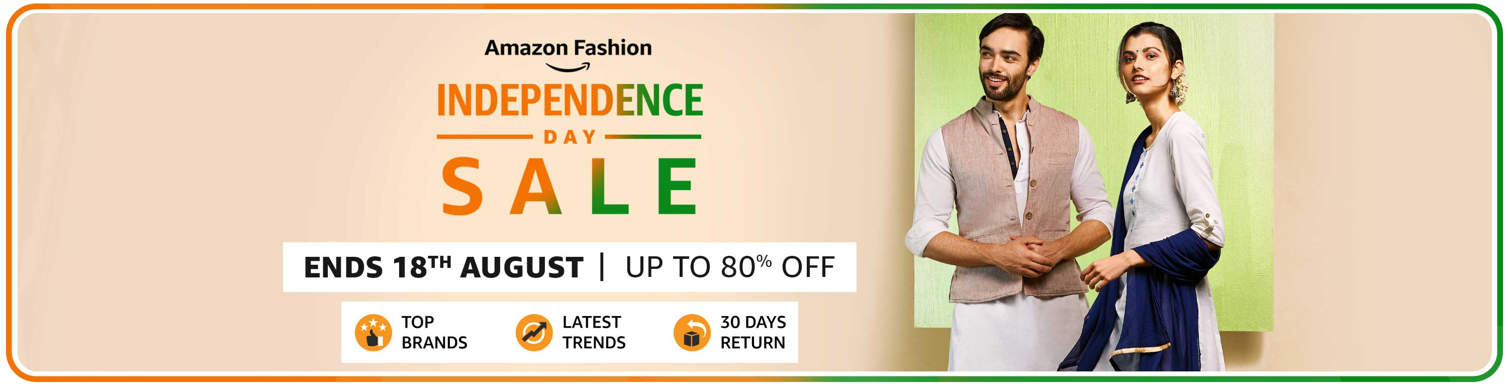 Independence Sale | Upto 80% Off Deals On Fashion & Lifestyle Products