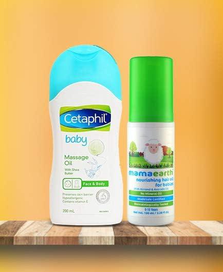 Hair & massage oils