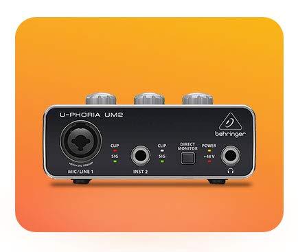 Audio interfaces & mixers