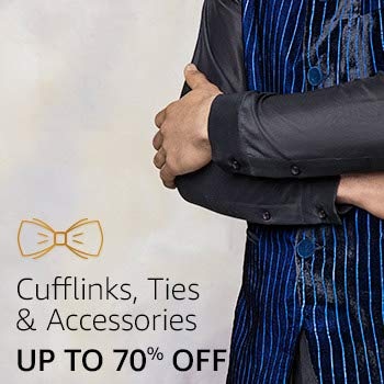 Cufflinks ties & accessories