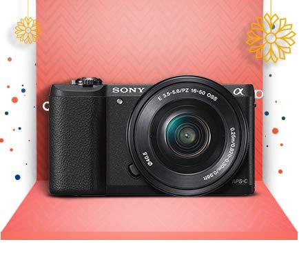 Sony Alpha 5100L - 24.3MP DSLR Camera