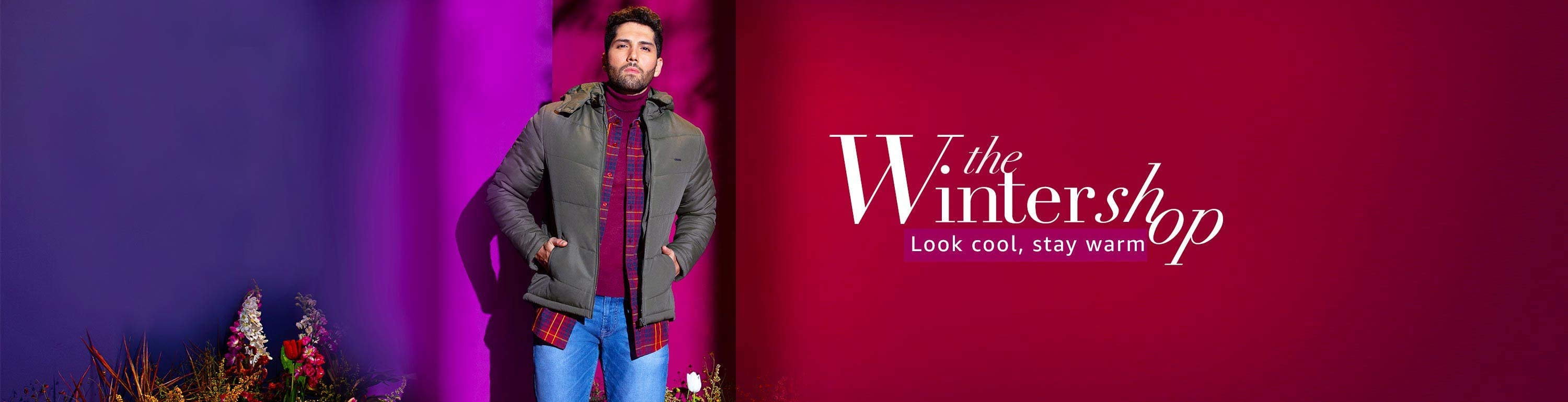 THE WINTER SHOP   Upto 70% Off On Men's Clothing