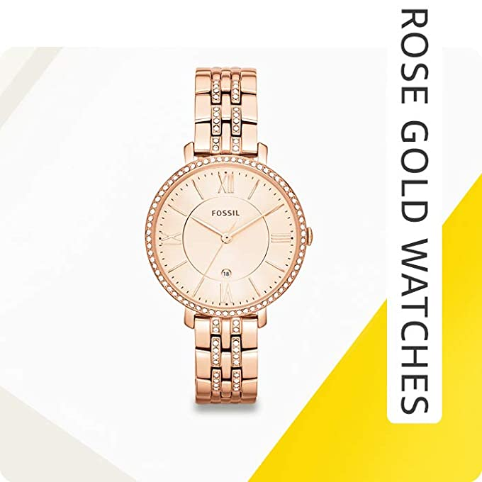 Gold & rose gold watches