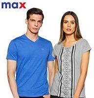 Max Fashion: 40%-55% Off