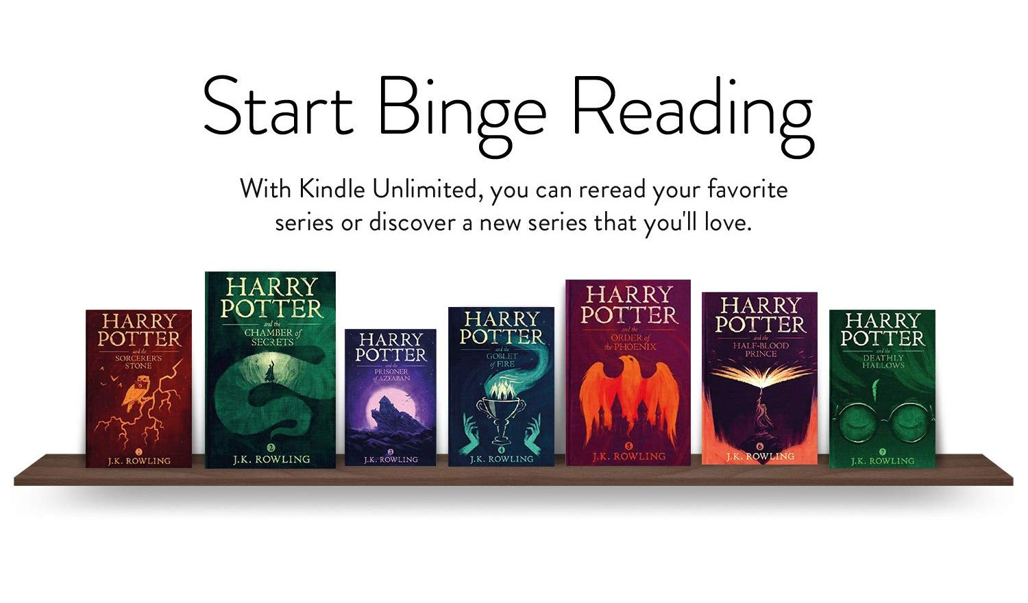 Harry Potter on Kindle Unlimited