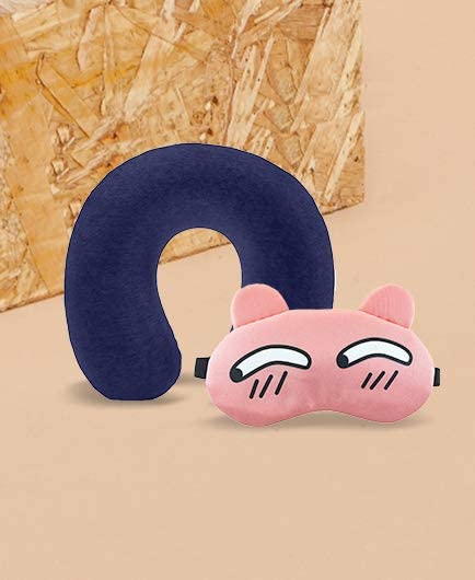 Neck Pillows & Eye Masks