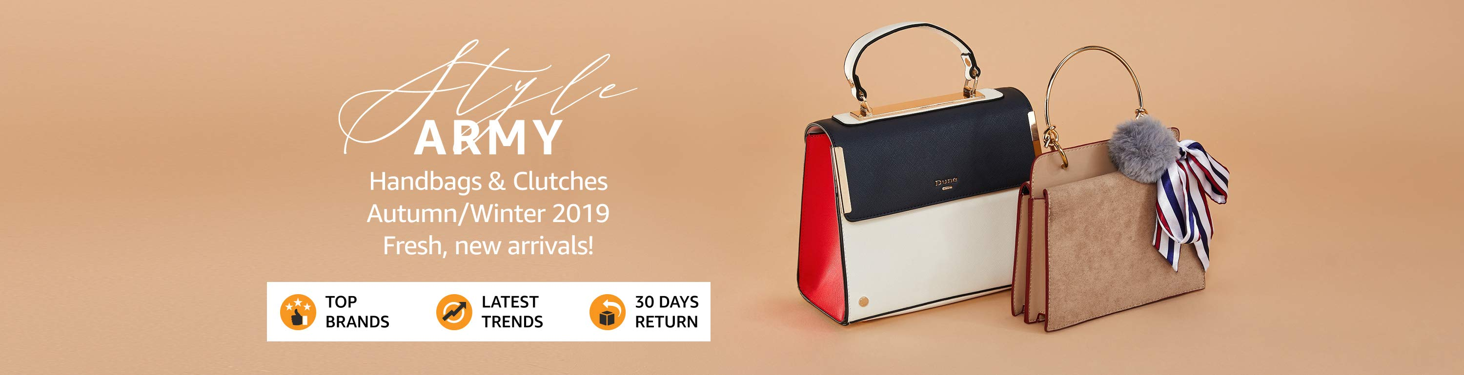 Great Indian Festival: Upto 80% Off on Handbags & Clutches + Extra 10% Off on SBI Bank Debit & Credit Cards (29th Sept - 4th Oct)