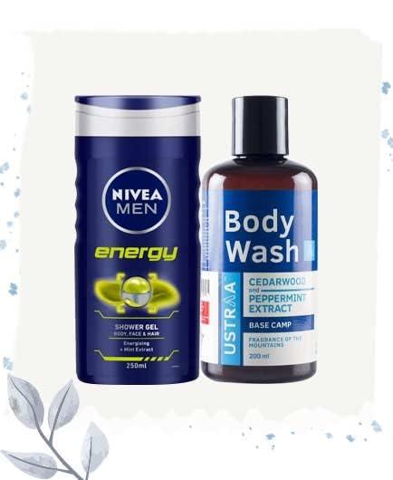 Body washes & shower gels