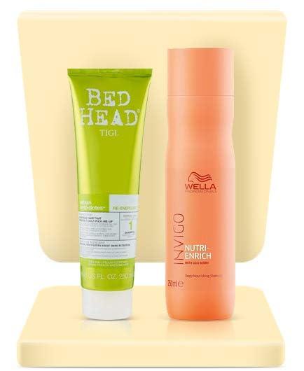 Dry shampoo & conditioner