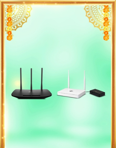 Routers & power backups