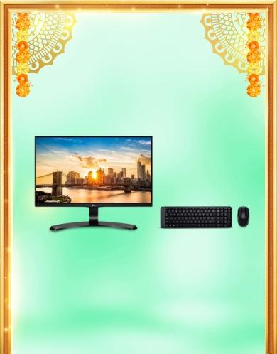 Monitors & keyboards