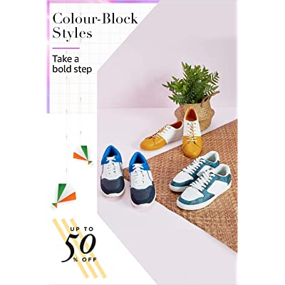 Shop colourful shoes