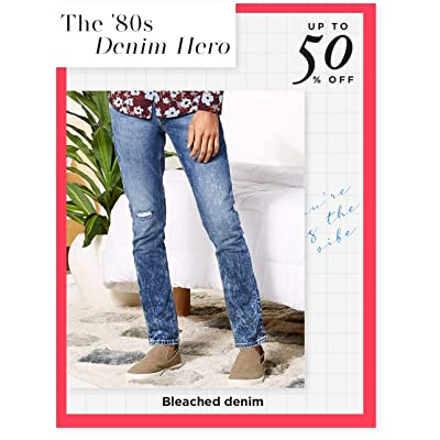 Shop acid-wash jeans