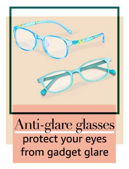 Anti-glare glasses