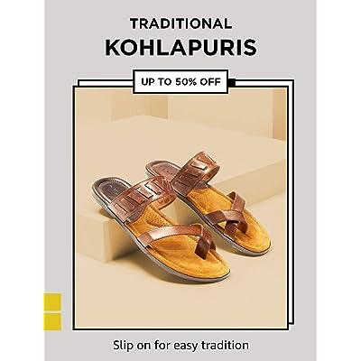 Shop men's kohlapuris