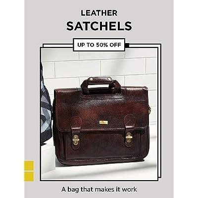 Shop leather satchels