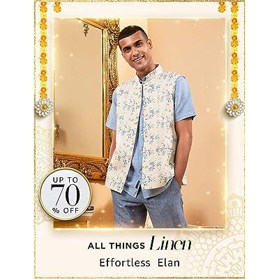Shop linen shirts, trousers & jackets