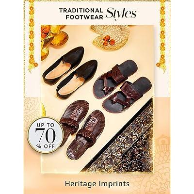 Shop men's ethnic footwear