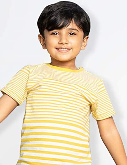 Solid tees for boys