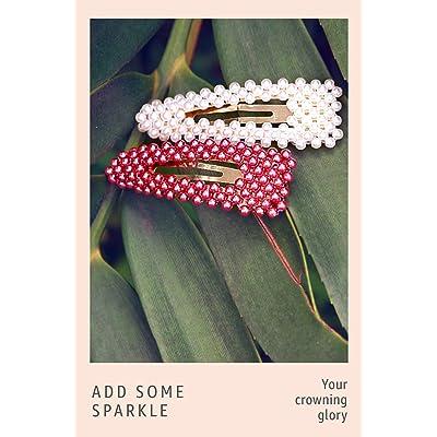 Shop embellished hair clips