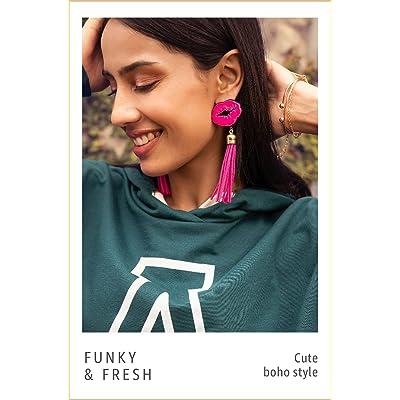 Shop tassel earrings
