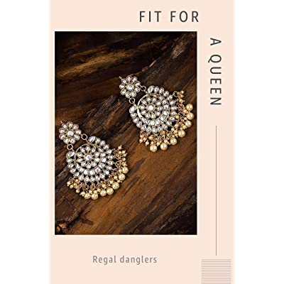 Shop kundan earrings