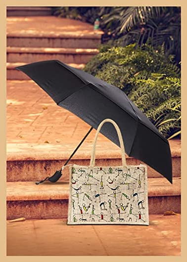 Shopping bags & umbrellas