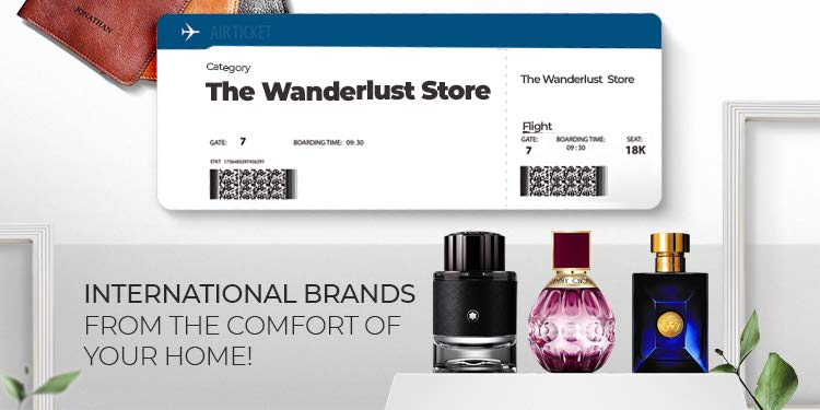 The wanderlust store