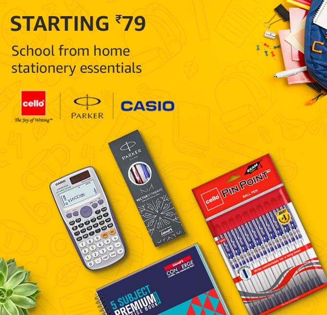 School from home with top rated stationery essentials starting Rs.79
