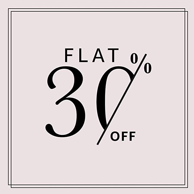 Flat 30%