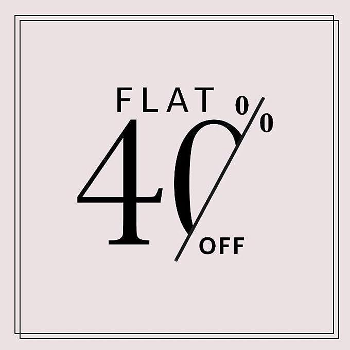 Flat 40%