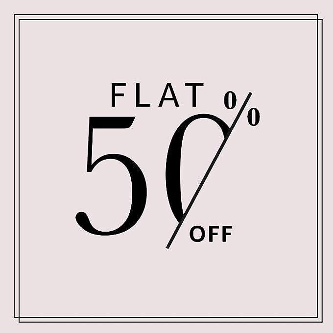 Flat 50%