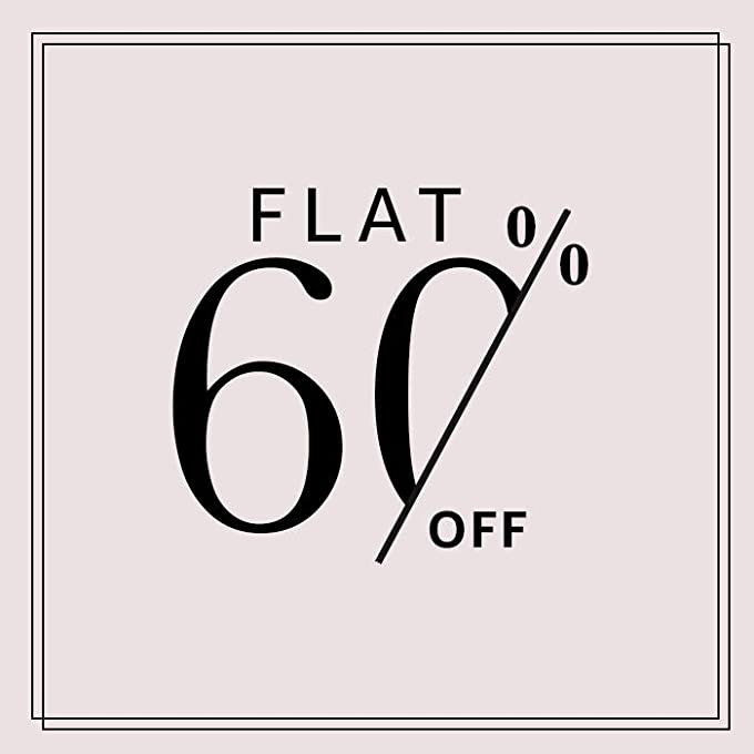 Flat 60%