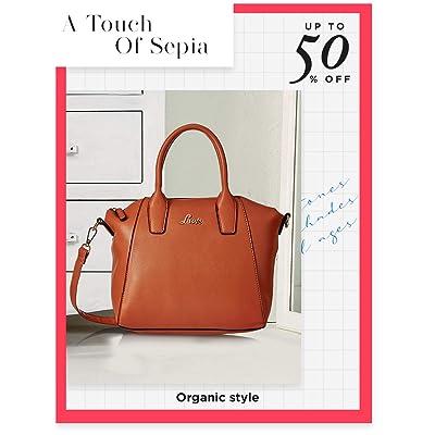 Shop earth-toned bags